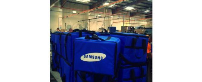 padded bag for samsung