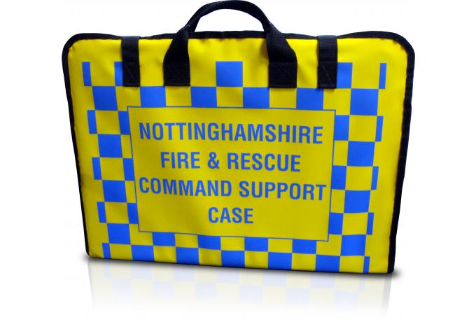 padded bag for nottingahmshire fire and rescue