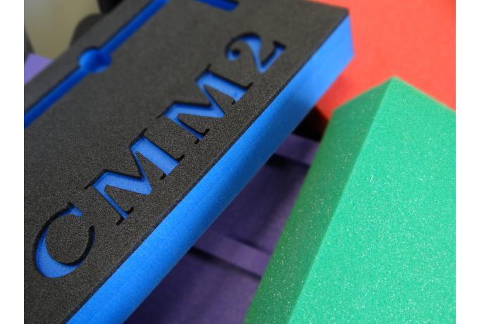 coloured foam
