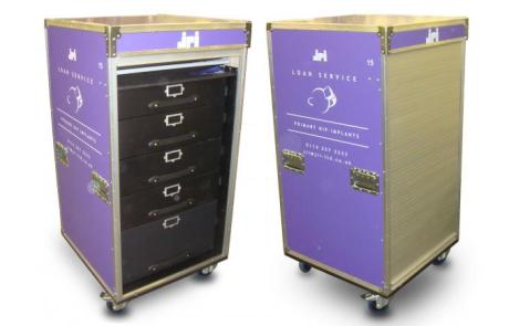 JRI Medical Flight Case
