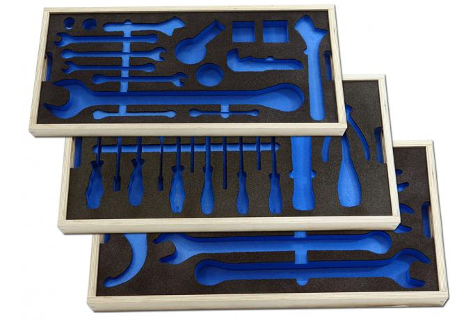 Foam Routed Trays
