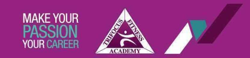 Trifocus Fitness Academy Registration