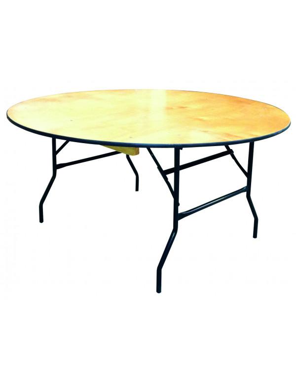 table traiteur ronde o 183 cm 10 personnes