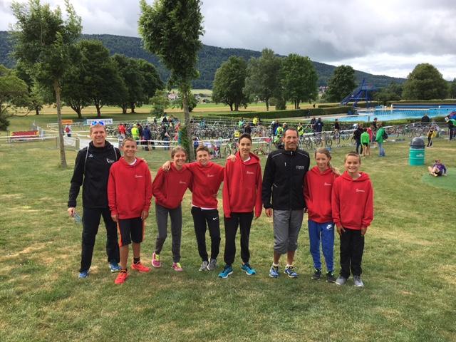 Resultats aux triathlons de Spiez, Val-de-Ruz et Machilly (FR)