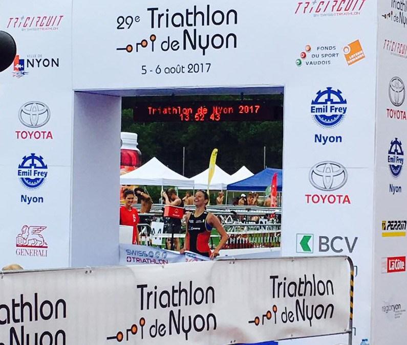 Résultats triathlon de Nyon