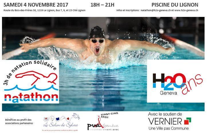3h de natation solidaire: Vincent Hess l'a fait