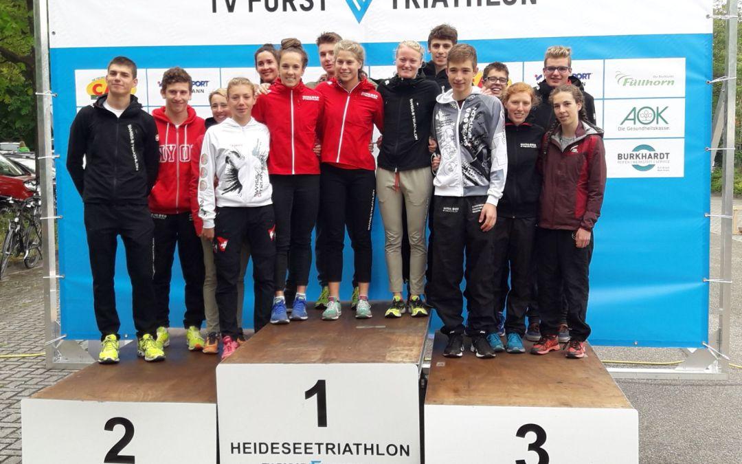 Deux jeunes se qualifient au 2018Kitzbühel ETU Triathlon Junior European Cupà Forst, Allemagne