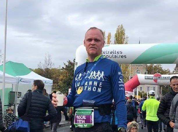 10km au Lausanne Marathon pour Pascal Diablotin