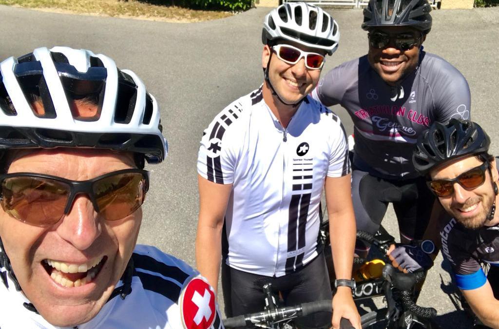 Votre coach vélo organise un sortie les samedis