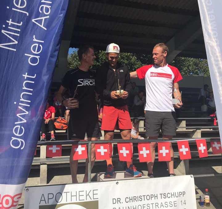 Championnat suisse des 24 heures par Swiss Ultra Running pour Dominik Erne