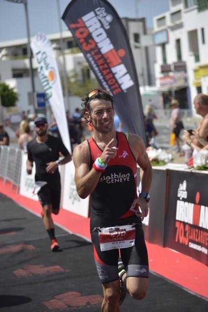 Daniel Pereira de Sousa au Lanzarote 70.3