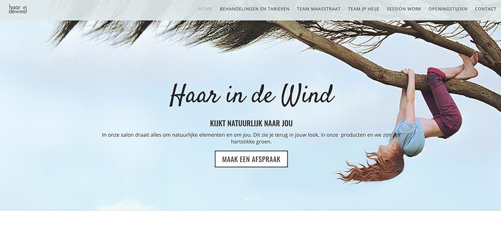 Webdesign-haarindewind