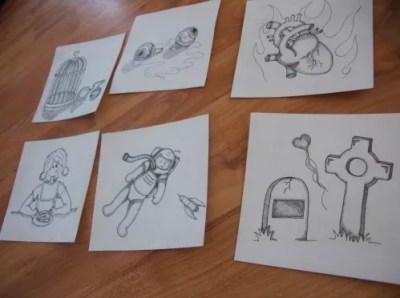Inked Drawings