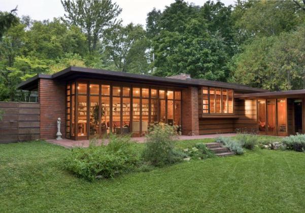 la casa jacobs 1 de Frank Lloyd Wright