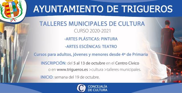 cartel talleres cultura