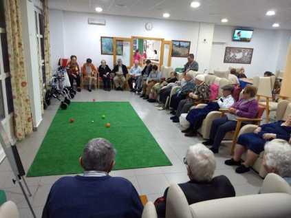 Los mayores de la residencia de Trigueros durante estos meses de pandemia 2