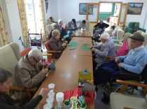 Los mayores de la residencia de Trigueros durante estos meses de pandemia3