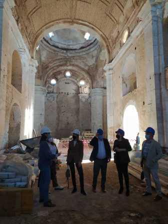 Visita a Trigueros de la delegada del Gobierno en Andalucía10