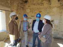 Visita a Trigueros de la delegada del Gobierno en Andalucía8