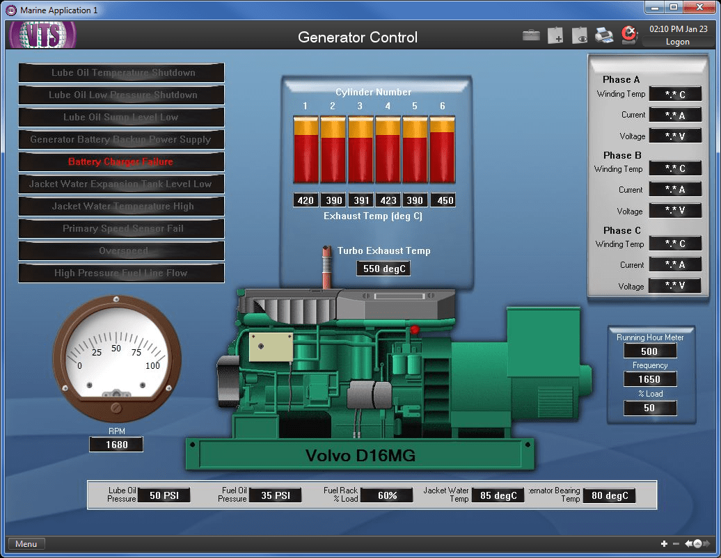 Marine SCADA Systems Overview