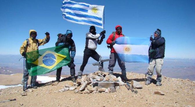 Quatro montanhistas com diabetes fizeram cume do Cerro Domuyo