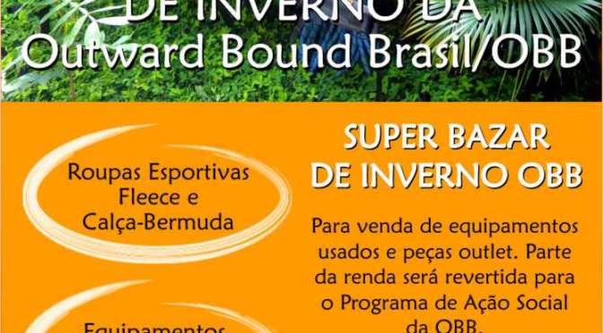 Bazar da OBB será no próximo domingo