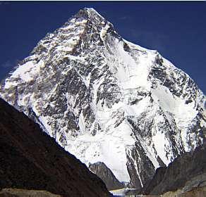 K-2, a segunda maior montanha do mundo