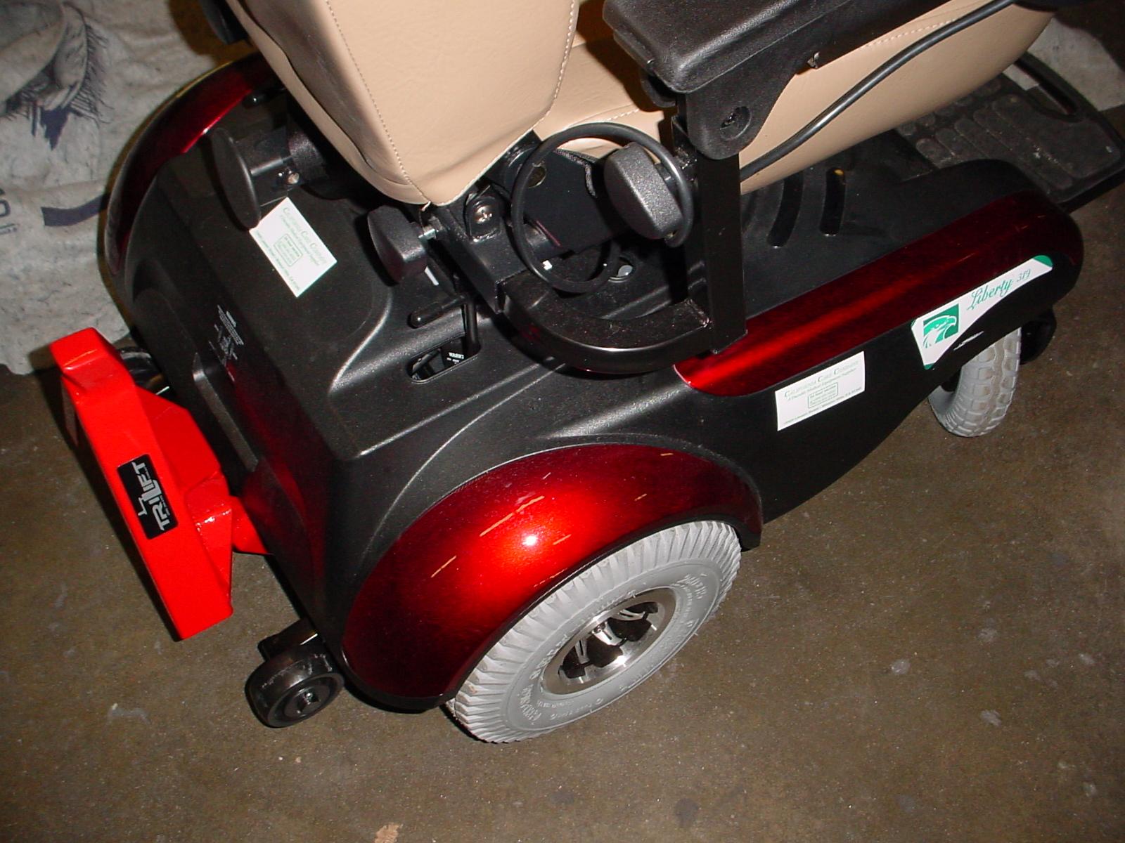 liberty 312 power chair white eames lounge trilift mobility
