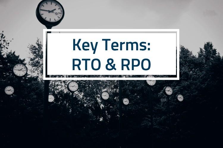 RTO and RPO