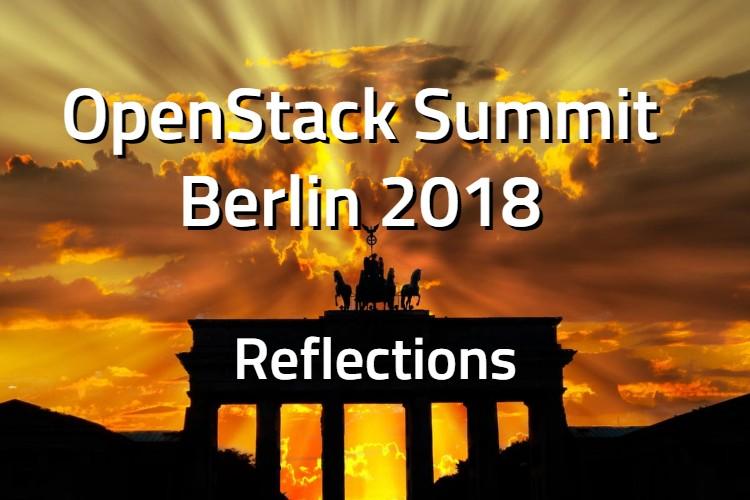 Reflections OpenStack Berlin