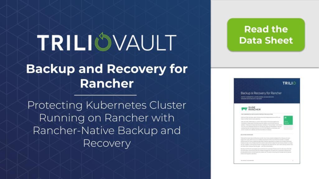 Rancher Backup
