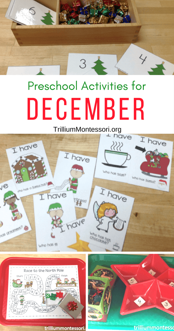 december crafts for preschoolers