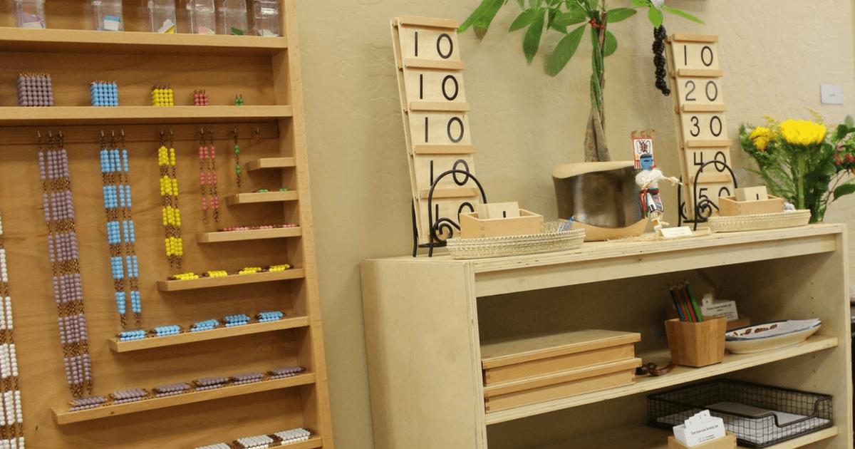 Laurens Montessori Classroom The Math Area  Trillium