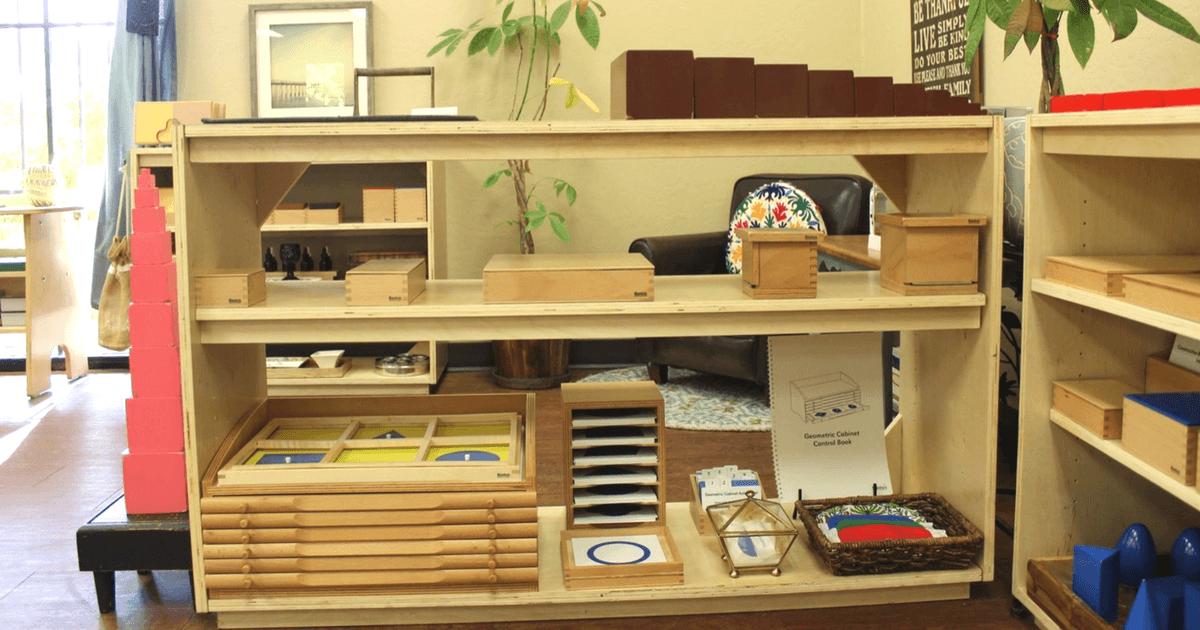 Laurens Montessori Classroom Sensorial Area Trillium