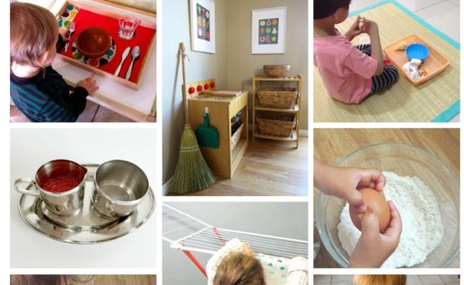 Montessori Practical Life Skills For Toddlers At Home