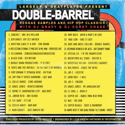 LargeUp + OkayPlayer - Double Barrel (Reggae x Hip Hop) (Mixtape)