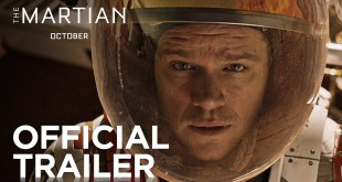 The Martian starring Matt Damon (Official Trailer)