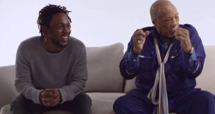 Kendrick Lamar Meets Quincy Jones (Video)
