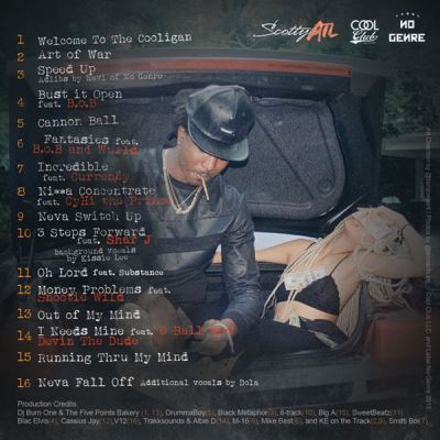 Scotty ATL - The Cooligan (Mixtape) back