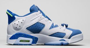 Air Jordan 6 Low Seahawks - Trillmatic.com 2
