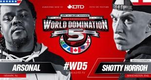 Rap Battle - Shotty Horroh vs Arsonal II | #WD5