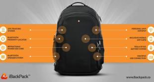 Check out the iBackPack which uses smart technology (Video)