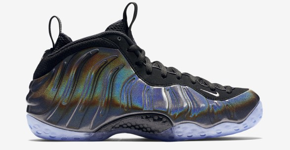 In-Hand Sneaker Review Foamposite One Hologram 1