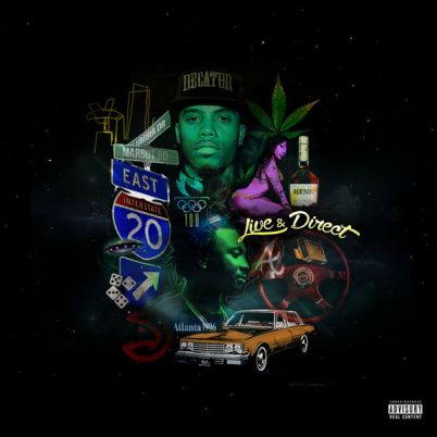 B.o.B & Scotty ATL - Live & Direct (Mixtape)