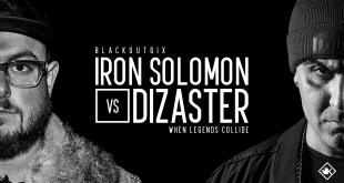 Rap Battle - Iron Solomon vs Dizaster (Video)