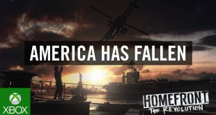 Homefront: The Revolution 'America Has Fallen' Trailer