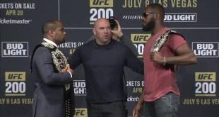 UFC 200: Madison Square Garden Face-offs (Video)