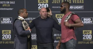 UFC 200: Madison Square Garden Face-offs (Video)