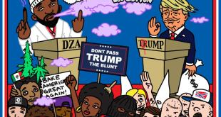 Smoke DZA - George Kush Da Button: Don't Pass Trump The Blunt (Mixtape)