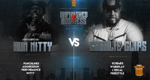 Rap Battle: Rum Nitty vs Charlie Clips (Video)